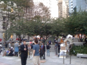 Occupy Philly - The scene