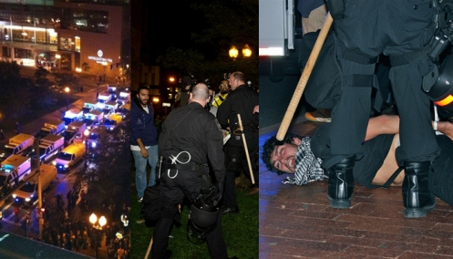 Photo of Occupy Boston Arrests Poice