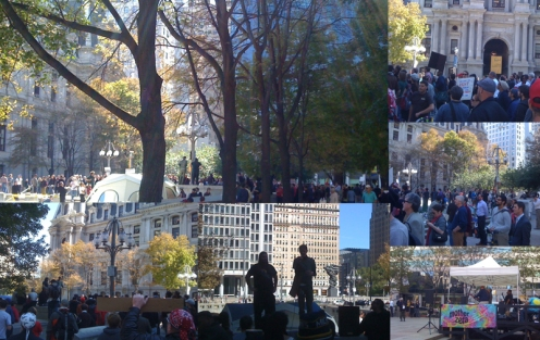 Occupy Philly Photo Collage